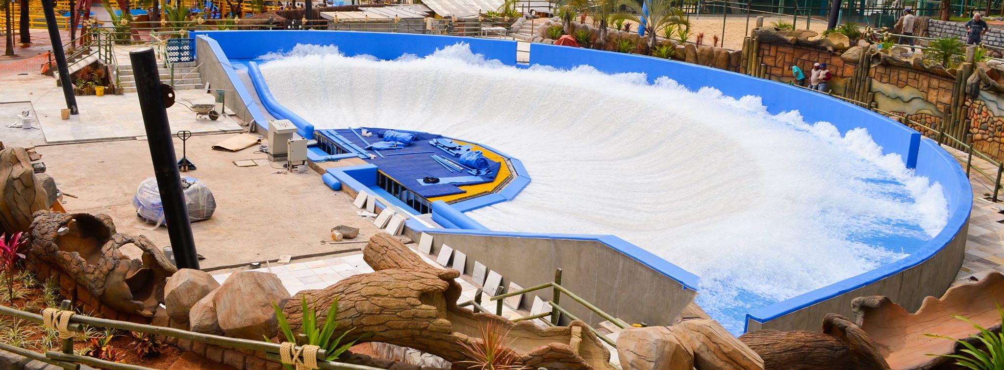 Thermas Inaugura Piscina Meia Lua De Surf No Dia 17