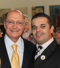 Geraldo Alckmin e Renato Azeda