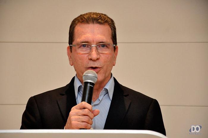 Gerente Geral Mário Dias como cerimonialista do evento