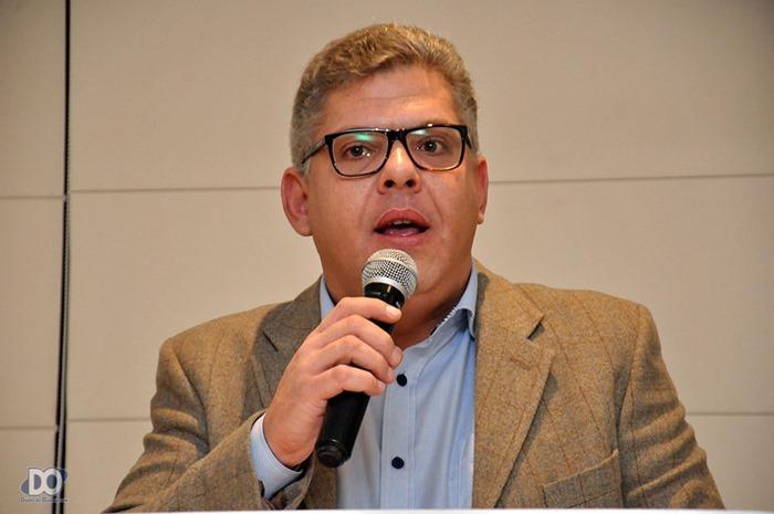 Secretário de Turismo Marcelo Paschoal, representando o prefeito Geninho Zuliani