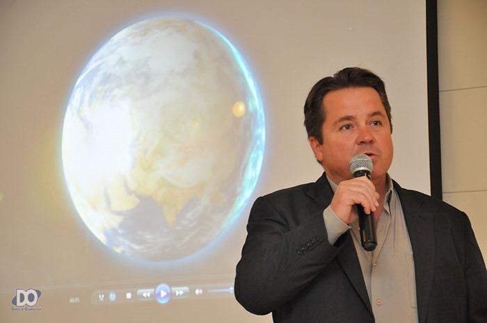 Vereador Beto Puttini fala em nome do legislativo