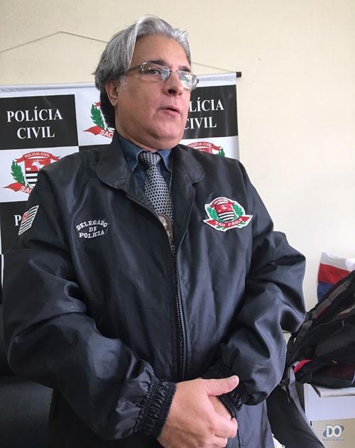 Delegado Ricardo Afonso Rodrigues em entrevista ao Diário e TV Tem