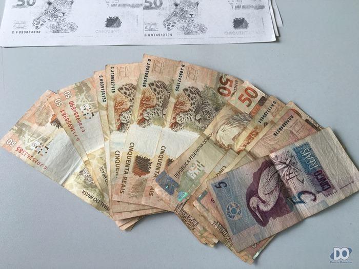 O dinheiro que a servidora entregou para o vereador, 'conforme combinado'