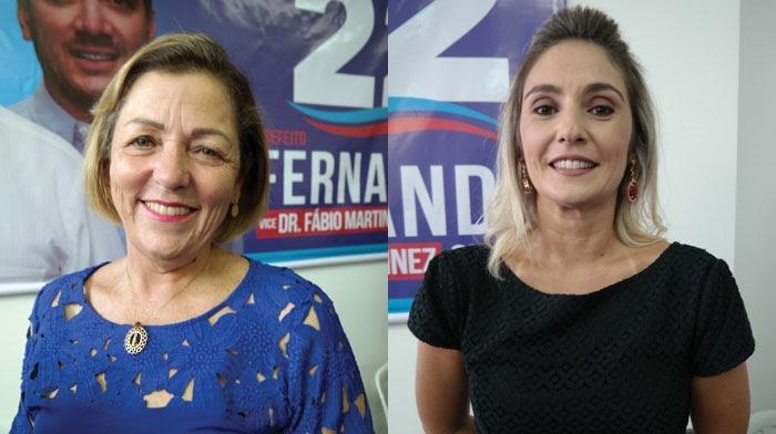 Cristina Reale, Assistência Social; e Lucineia dos Santos, Saúde (Rio Preto)