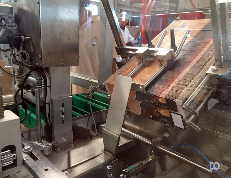 O sistema de embalagem do Café Vulcão de Minas em cápsulas Nespresso