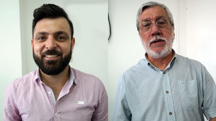 Guto Zanette, Governo; e Luiz Martin Junqueira, Obras e Desenvolvimento Urbano, e Prodem