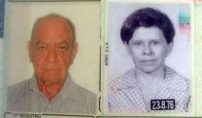Casal brutalmente assassinado Antonio Irani e Therezinha Leite
